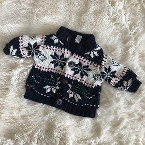 ⭐️GAP winter button down sweater